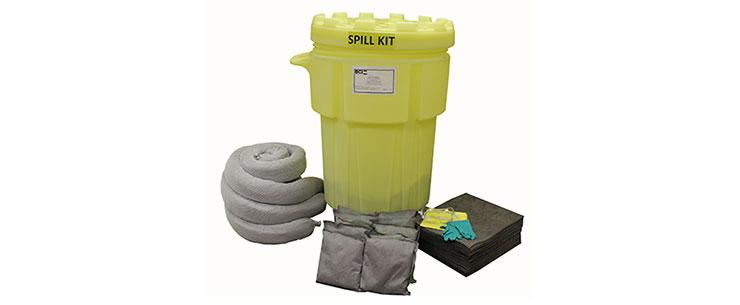 Wheeled 95-Gallon Universal Spill Kit