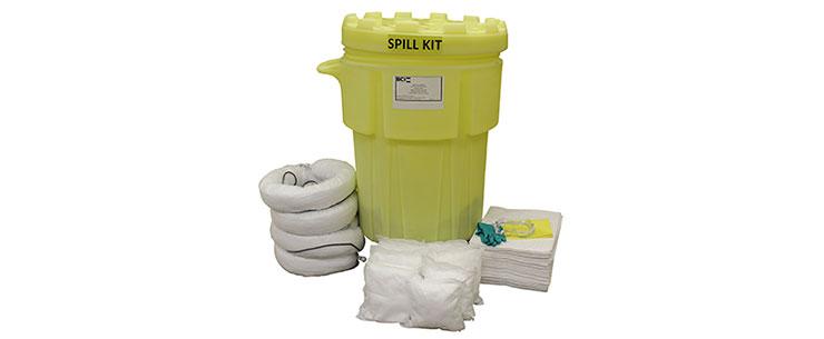 Wheeled 95-Gallon Oil-only Spill Kit