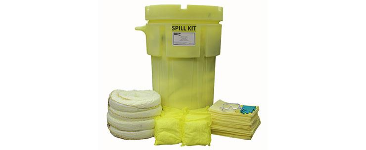 Wheeled 95-Gallon Hazmat Spill Kit