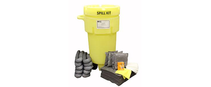 Wheeled 50-Gallon Universal Spill Kit