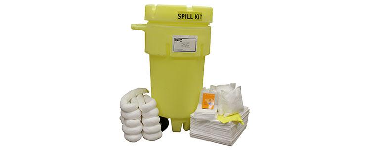 Wheeled 50-Gallon Oil-Only Spill Kit