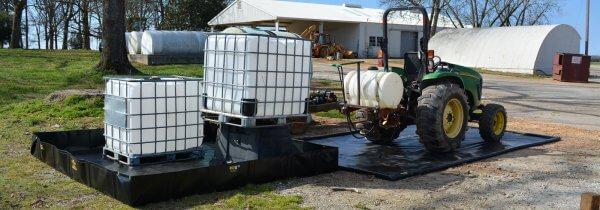 fertilizer spill containment