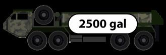 Tanker 2500 Gal HEMTT