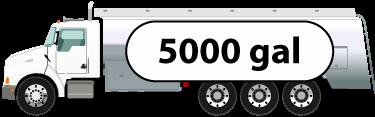 Tanker 5000 Gal