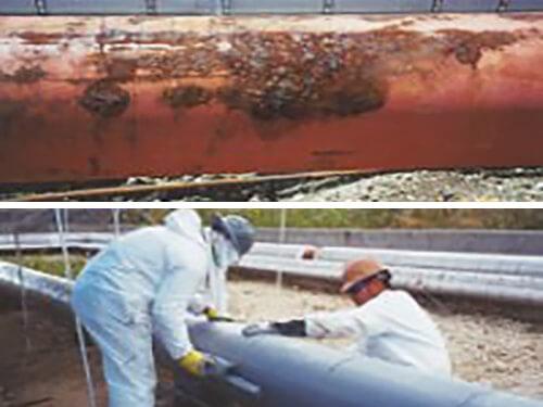 industrial spray coatings keep corrosion at bay.